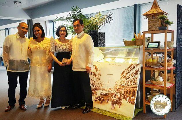 luneta ice cream philippine embassy ambassador ledda