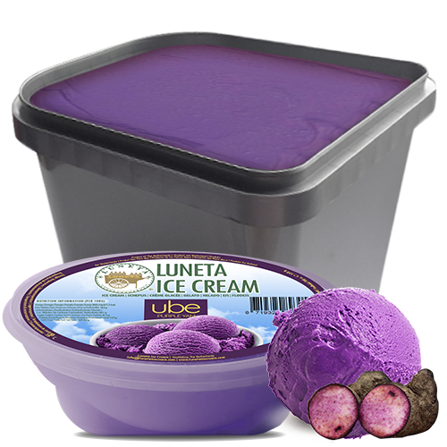 luneta ice cream europe filipino ube purple yam